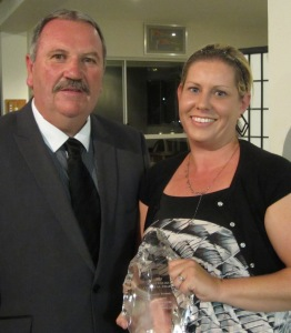 Peta Leahy, of the Griffith Centre for Coastal Management, was presented with the Australian Coastal Award for Research.