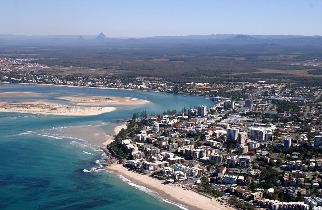 Sunshine coast view